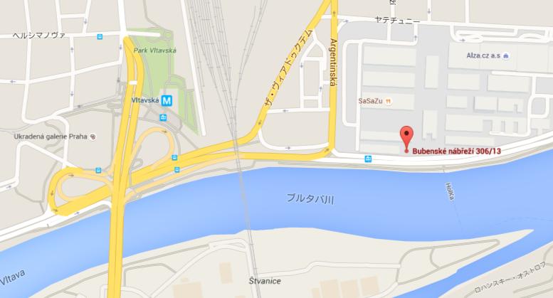ShowParkの地図