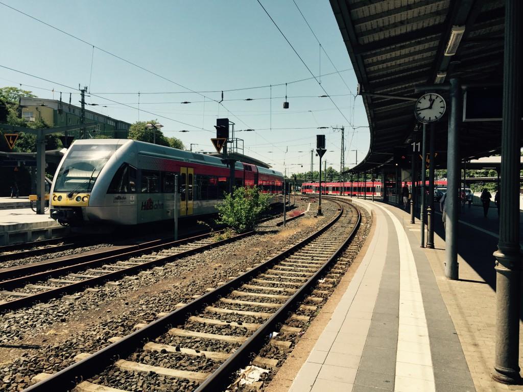 ギーセン(Gießen)駅