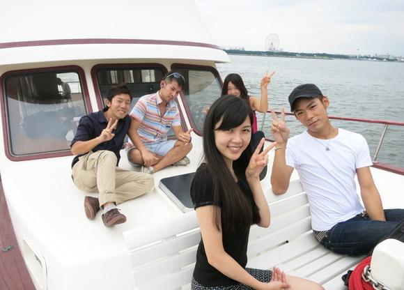 「船上バーベキュー・Anniversary Cruise」