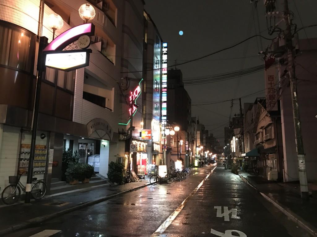 松島新地の入り口