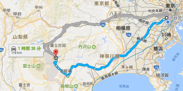 富士山までの道のり