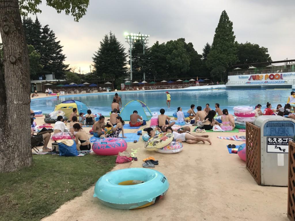 豊島園のプール
