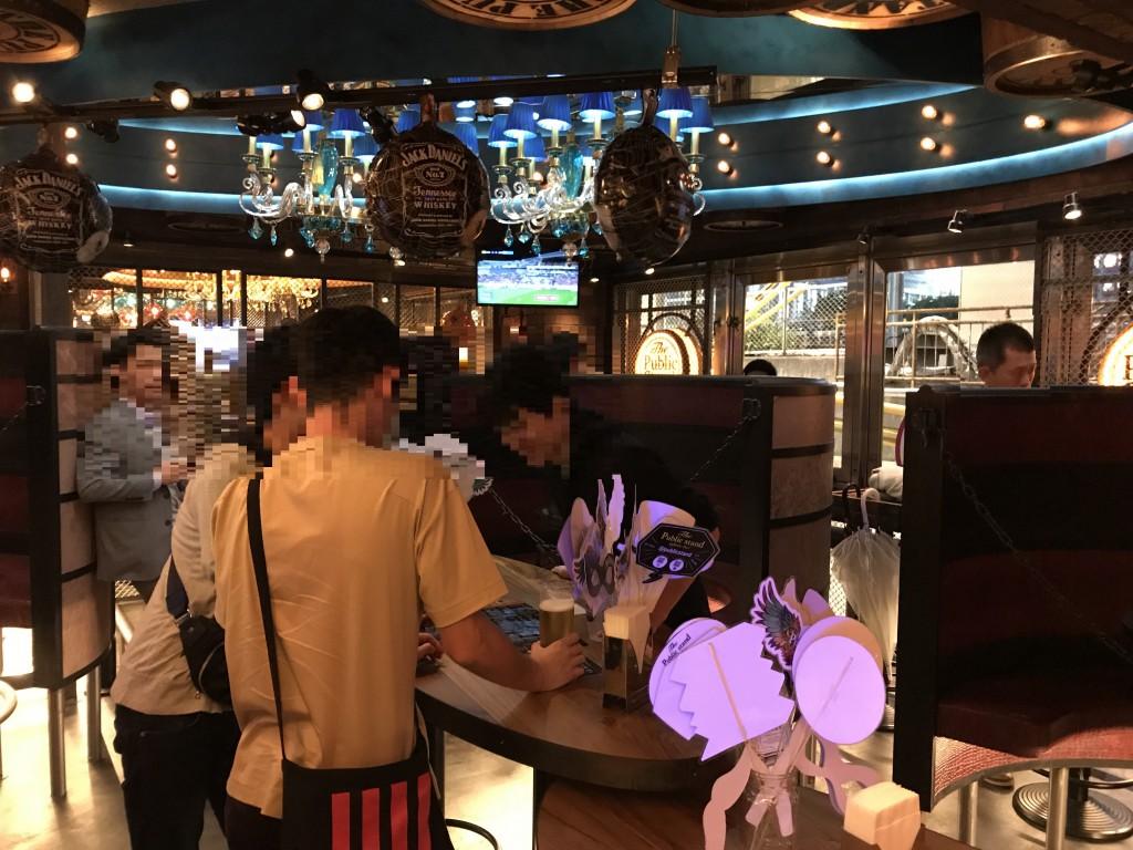パブリックスタンドの渋谷店 店内の様子