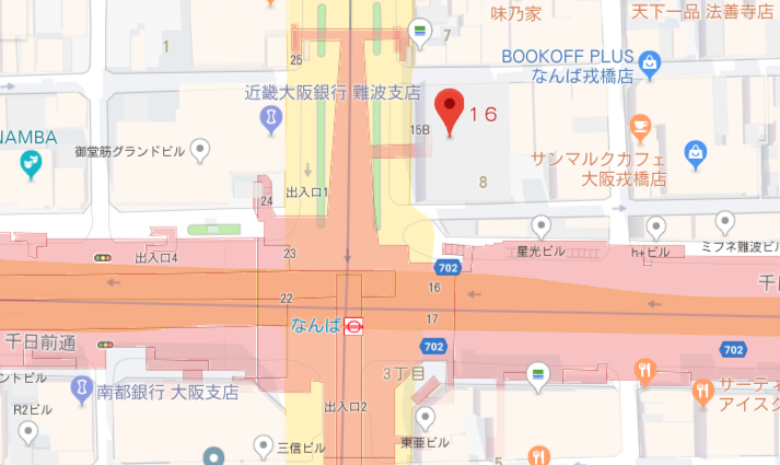 JISの場所・地図